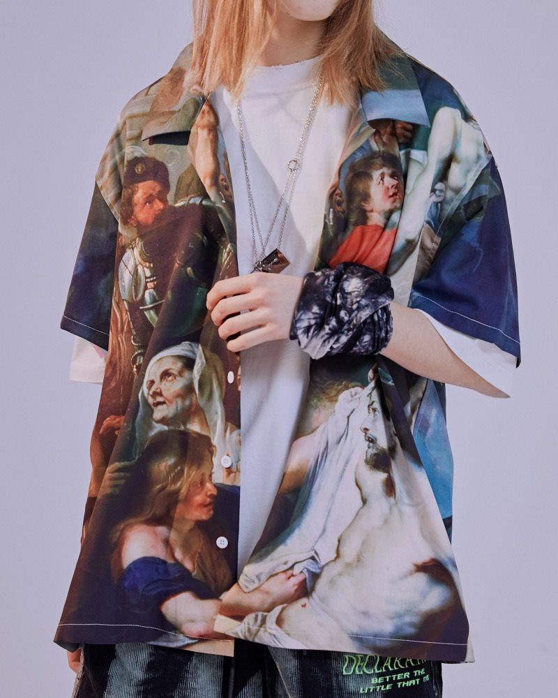 ミラクルザビエル半袖シャツの画像5